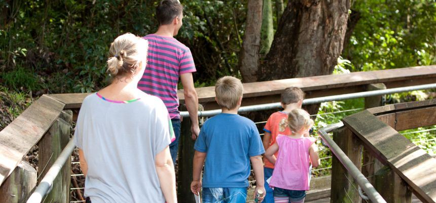 Guided tours at Blackbutt Reserve
