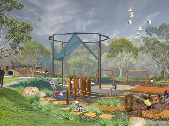 Richley Reserve playground