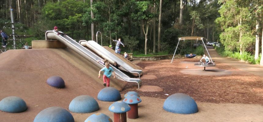 Carnley Reserve Playground Blackbutt Reserve Newcastle