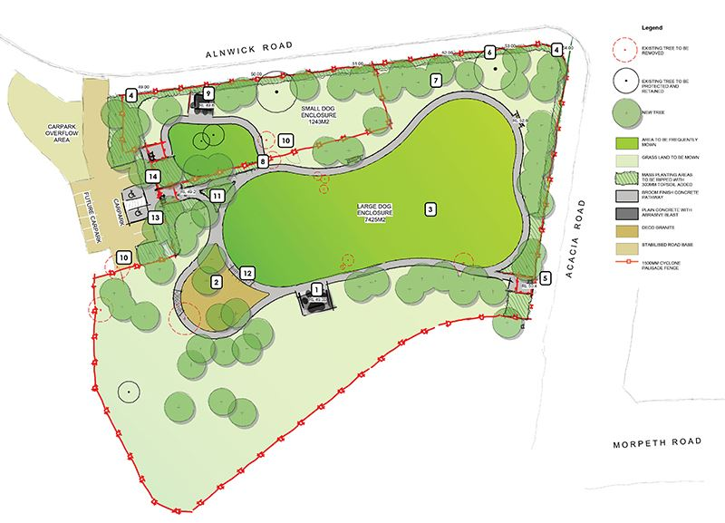 Acacia Avenue Final Stage Plan