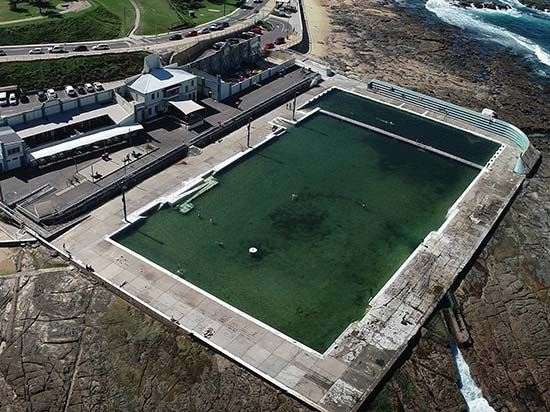 Newcastle Ocean baths will be renewed in two stages