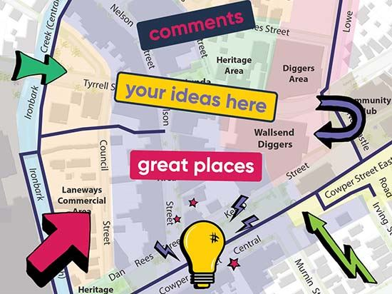 Have your say Wallsend – places & spaces