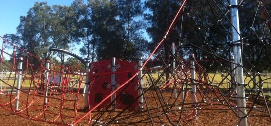 Council opens upgraded playground