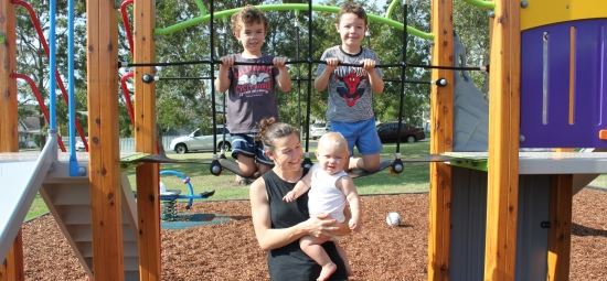 New playgrounds provide sense of community
