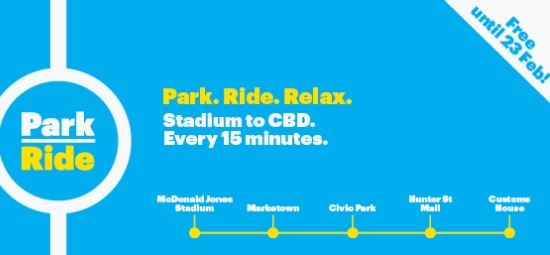 Free park and ride service extended a month