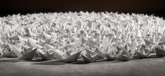 Paper Armada sails into Gallery
