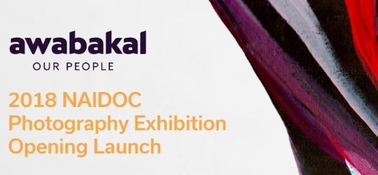 2018 NAIDOC Photography Exhibition Opening Launch