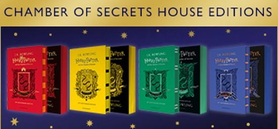 Win a Bedroom Makeover in Hogwarts' House Colours!