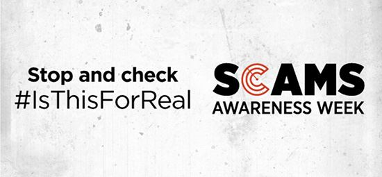 Scams Awareness Week starts today!
