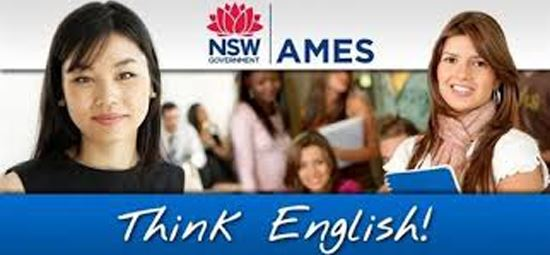 AMES: Learning English Online