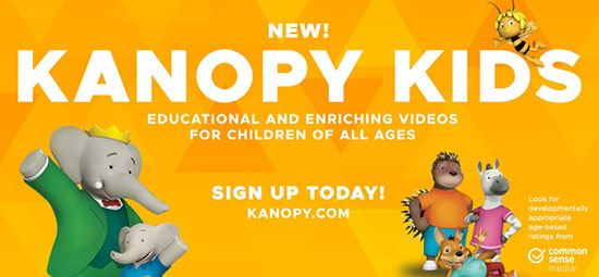 Save your sanity with Kanopy Kids