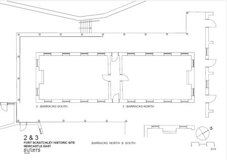Fort Scratchley Barracks Floor Plan