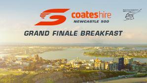 Exhibition Stand Hire Newcastle : Coates hire newcastle 500 grand finale breakfast city of newcastle