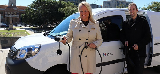 City leads with purchase of electric cars