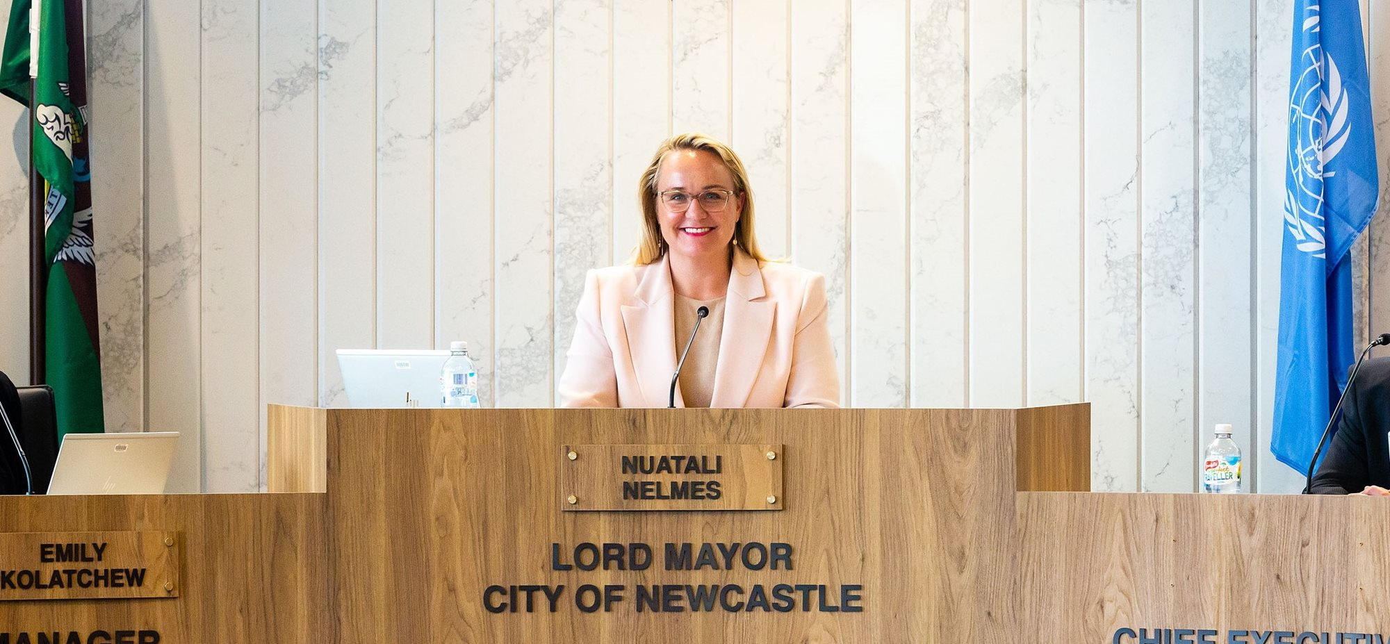 Council holds first meeting in new chamber