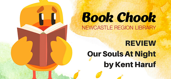 Book Chook Reviews: Our Souls at Night by Kent Haruf