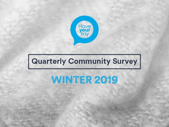 Winter Quarterly Community Survey