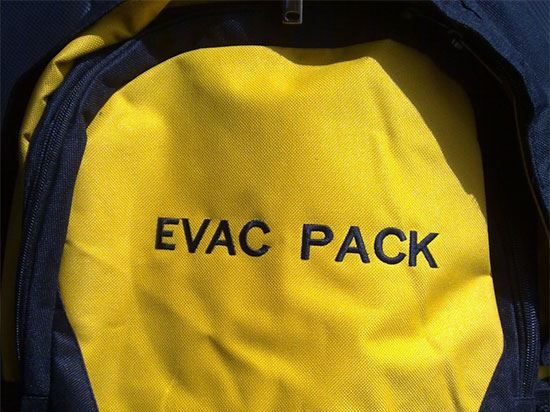 Evacuation Pack