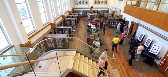 Library reopening and celebrations mark War Memorial Cultural Centre