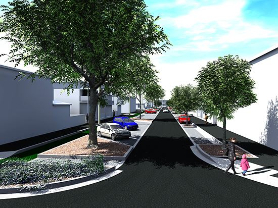 Council Street Renewal, Cooks Hill