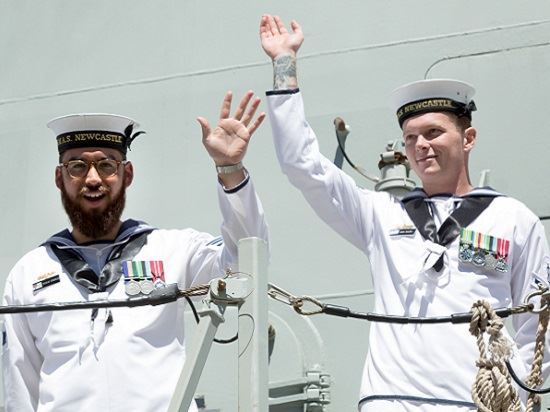 Farewell HMAS Newcastle