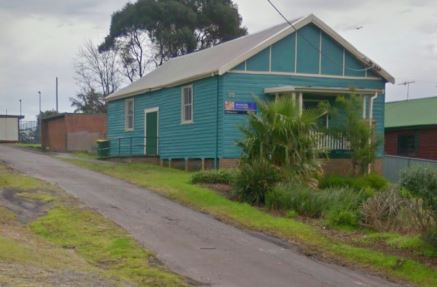 Street view of Elermore Vale Community Hall