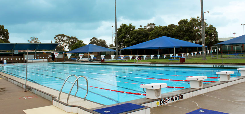 Swimming centres city of newcastle for Can babies swim in saltwater pools