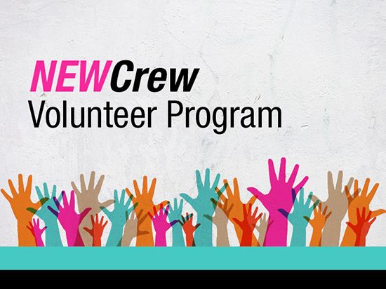 Join our NEW Crew Volunteer Team