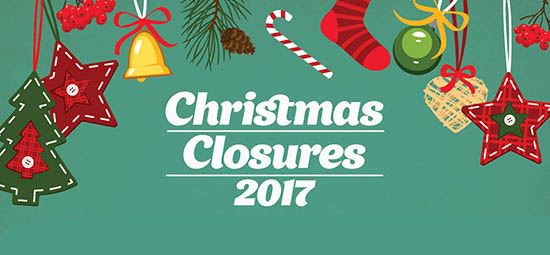 Library Christmas Closures