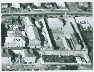 Aerial view of Maitland Gaol 1975