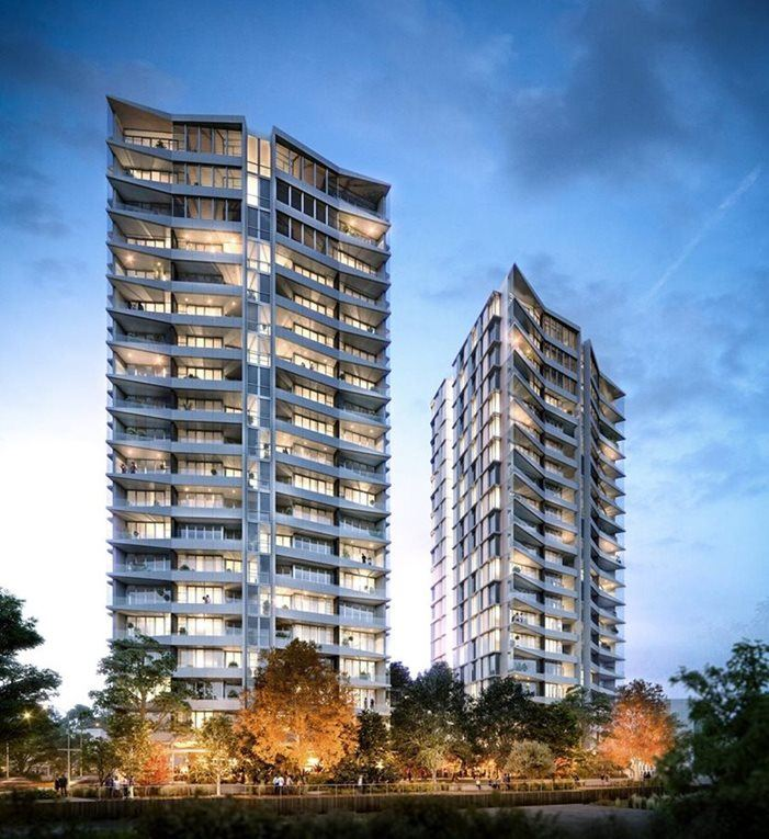 Artist impression of Verve residences apartments